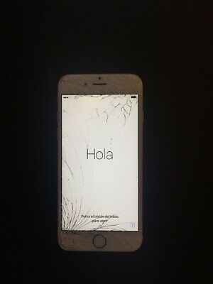Iphone 6 Cracked Screen