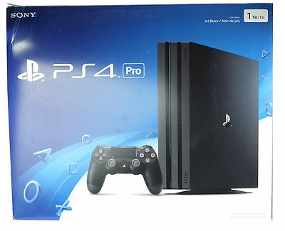 Sony PlayStation 4 Pro 1TB Black Console - Brand New and Ready to Ship