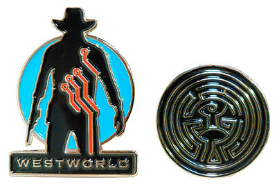 Westworld Collectible Pin 2-Pack SDCC 17 Exclusive