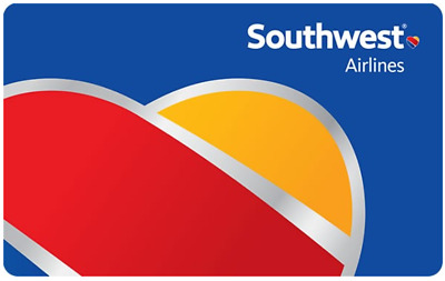 200 Southwest Airlines Gift Card - Fast Email delivery