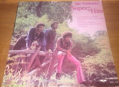 The Delfonics Super Hits LP Vinyl Record Album Philly Groove PG 1152