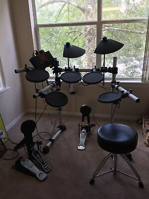 Yamaha DTXplorer 5 piece electric drum set