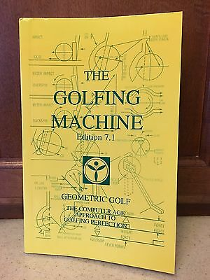 The Golfing Machine Paperback Book Edition 7-1 By Kelley