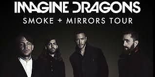 Imagine Dragons tickets 092917 T-Mobile Las Vegas up to 6 tickets