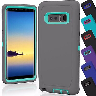15 Shockproof Defender Hybrid Case Cover Wholesale Lot For Samsung Galaxy Note 8