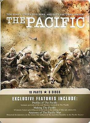 The Pacific Complete HBO Miniseries  BRAND NEW 6-DISC DVD SET