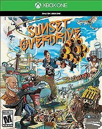 Sunset Overdrive Microsoft Xbox One 2014 Brand New with Same Day Shipping