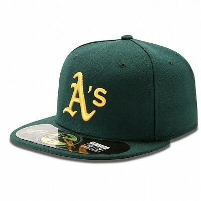 Mens Oakland Athletics New Era Road Authentic Collection On Field 59FIFTY-