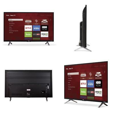 New TCL 32-Inch 720p Roku Home Dual-Band Wifi Smart Direct-lit LED TV 2017 Model