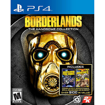 Borderlands The Handsome Collection PS4 Brand New