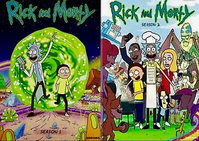 Rick and Morty Complete Seasons 1 and 2