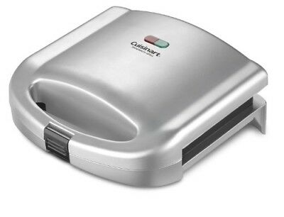 Cuisinart Commercial Sandwich Maker Toaster Grill Bread Toasters Nonstick Dual