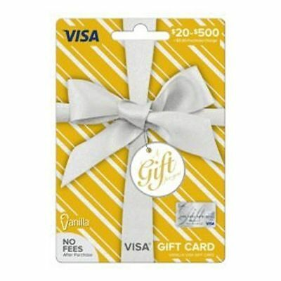 300 NonReloadable VISA Card- Ready to use- No Fees- Free 1-3 day Fast Delivery