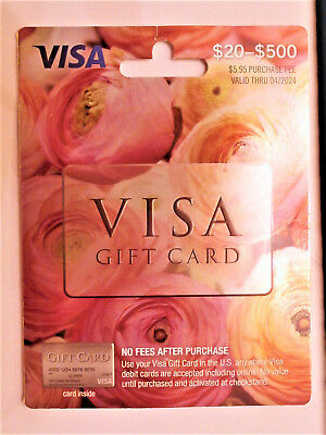 200 NonReloadable VISA Card- No Fees Ready to use- Free 1-3 day Fast Delivery