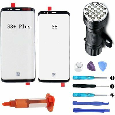 Samsung Galaxy S8 Plus S9 OEM Front Screen Glass Lens Replacement LOCA Glue Tool