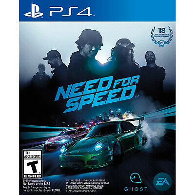 Need for Speed PS4 Brand New