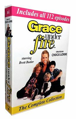 GRACE UNDER FIREThe Complete Comedy TV Series All 112 Episodes