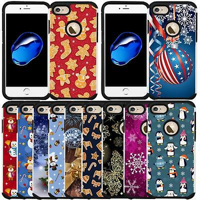 Christmas Holiday Design Case for Apple iPhone 8 2017 iPhone 7 2016 4-7 Inch