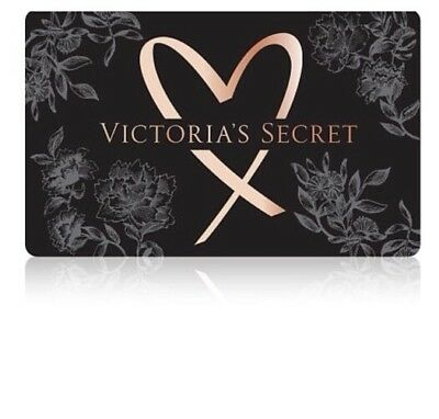 Victoria's Secret Gift Card 100-00 You Pick The Style Of Gift Card