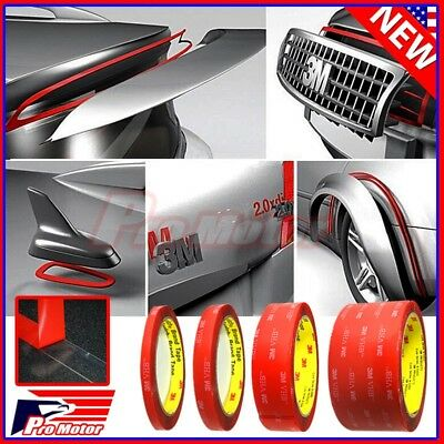 3M VHB  4910 Car Truck Auto Transparent Clear Double Sided Tape 14 12 1 2