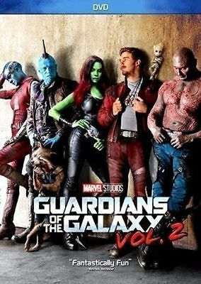 Guardians of the Galaxy Vol- 2  DVD 2017  Action-  Super Fast Shipping