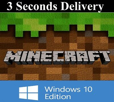Minecraft Windows 10 Edition - FULL GAME - DIGITAL KEY CODE - FAST DELIVERY 247