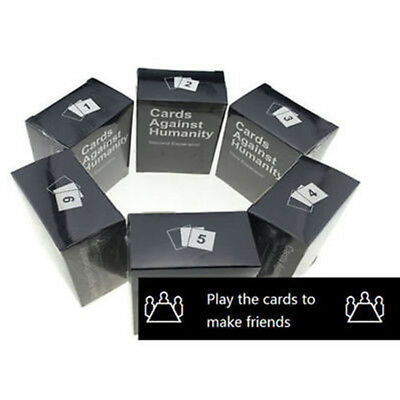 Cards Against Humanity Expansion Packs 1-6 New Table Adult Game XMAS Gifts Toys