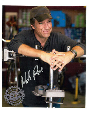 Mike Rowe Autographed photo - benefits the mikeroweWORKS Foundation