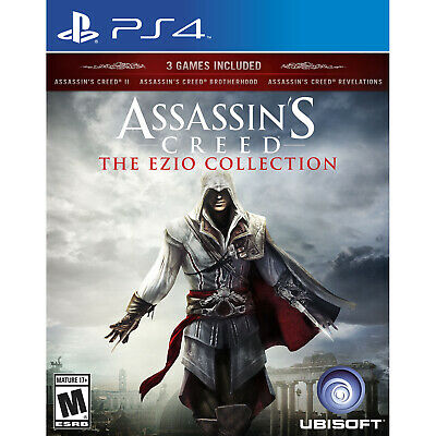 Assassins Creed The Ezio Collection PS4 Brand New
