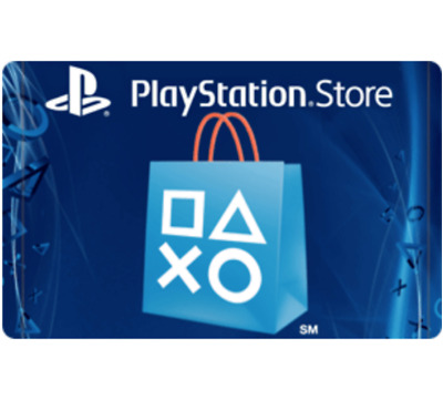 Sony Playstation Network Card - 20 25 50 or 100 - Email delivery