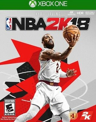 NBA 2K18 Microsoft Xbox One 2017 BRAND NEW SEALED FREE SHIPPING NO TAX