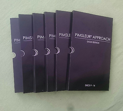 Pimsleur Approach Gold Edition Spanish I - V Total 80 CDs Bundle