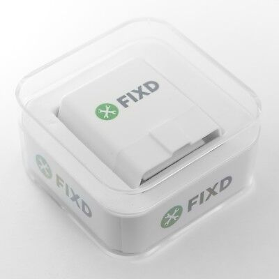 FIXD OBD-II ACTIVE CAR HEALTH MONITOR NEW 2ND GENERATION CODE READER ENGINE SCAN