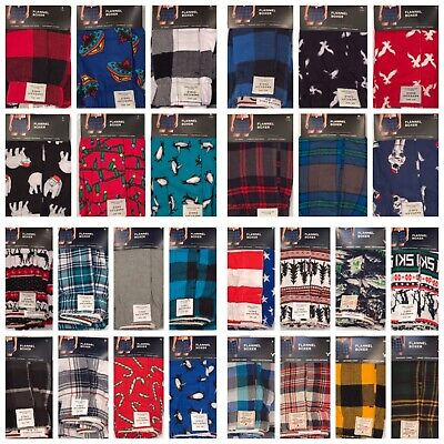 NWT AMERICAN EAGLE Mens Flannel Boxer Underwear XS-S-M-L-XL Many ColorsPrints