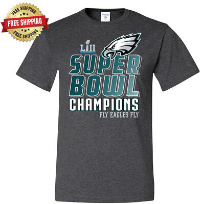 Super Bowl LII 52 Champions T-Shirt Philadelphia Eagles