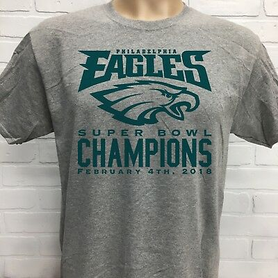 PHILADELPHIA EAGLES SUPER BOWL CHAMPIONSHIP T-SHIRT