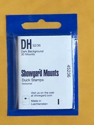 SHOWGARD STAMP MOUNTS DH 5236 - U-S- DUCK STAMPS