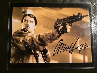 ARNOLD SCHWARZENEGGER authentic signed autographed 8x10 Photo WCOA Terminator