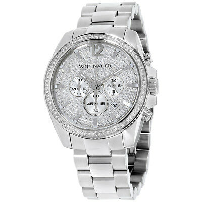 Wittnauer Silver Dial Stainless Steel Mens Watch WN3062
