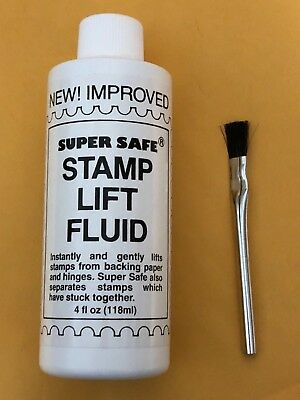 SUPERSAFE STAMP LIFT FLUID - WE HELP AND SUPPORT OUR VETERANS