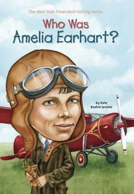 Who Was Amelia Earhart by Jerome Kate Boehm Who HQ