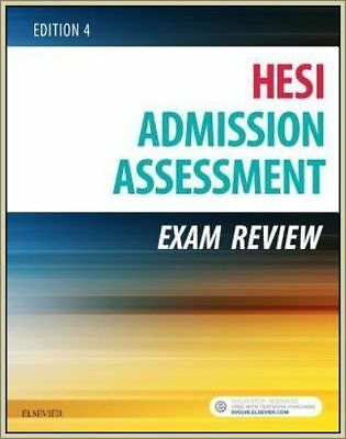Admission Assessment Exam Review by Hesi EDITION 4 Paperback 2016-BEST DEAL