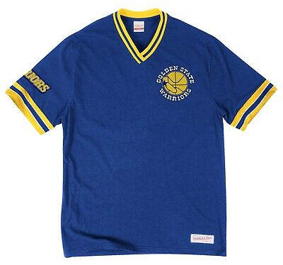 Golden State Warriors Mitchell - Ness NBA Win Vintage Premium T-Shirt - XXL