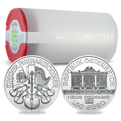 Austria 1 oz Silver Philharmonic Random Year Lot of 20