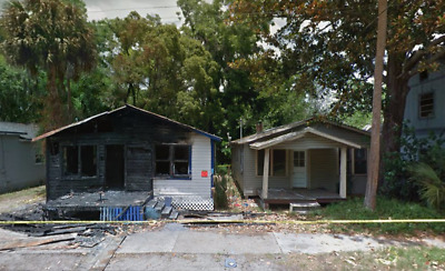 2 SINGLE FAMILY HOMES PRE-FORECLOSURE FIRE DAMANGED NO RESERVE