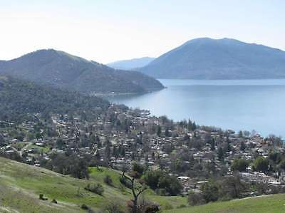 LARGE CLEAR LAKE LOT GREAT LAKE VIEW LESS THAN A MILE TO THE LAKE LOOK