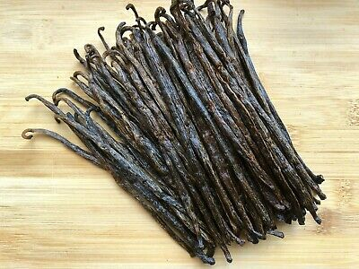 Madagascar Bourbon Vanilla Beans Grade B - Great for Extraction - Baking
