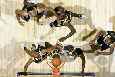 MICHIGAN FAB FIVE 5 Poster Print 2 feet x 3 feet NCAA MARCH MADNESS POSTER E