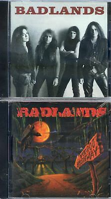 Badlands-Badlands Cd 1989-Voodoo Highway Cd 1991 Two separate CD