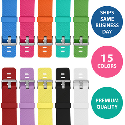 Band For Fitbit Blaze SmallLarge Silicone Rubber Wristband Strap Replacement